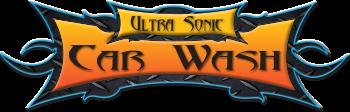 Logo Ultra Sonic Car Wash
